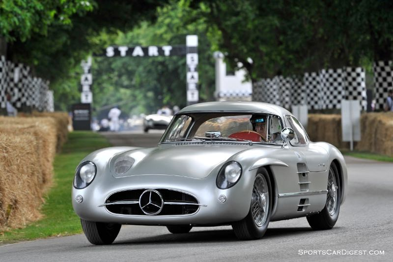 Mercedes benz 300 slr celebrated at 2015 goodwood fos for Mercedes benz 300 slr