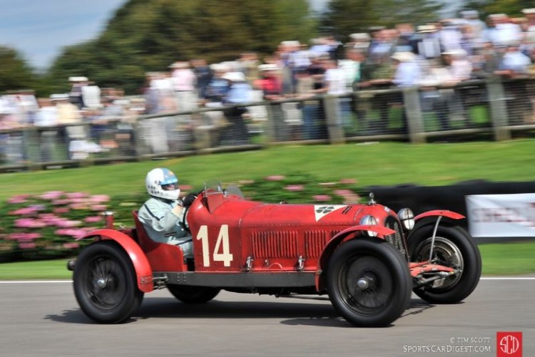 Neil Twyman, 1932 Alfa Romeo 8C 2600 'Muletto'