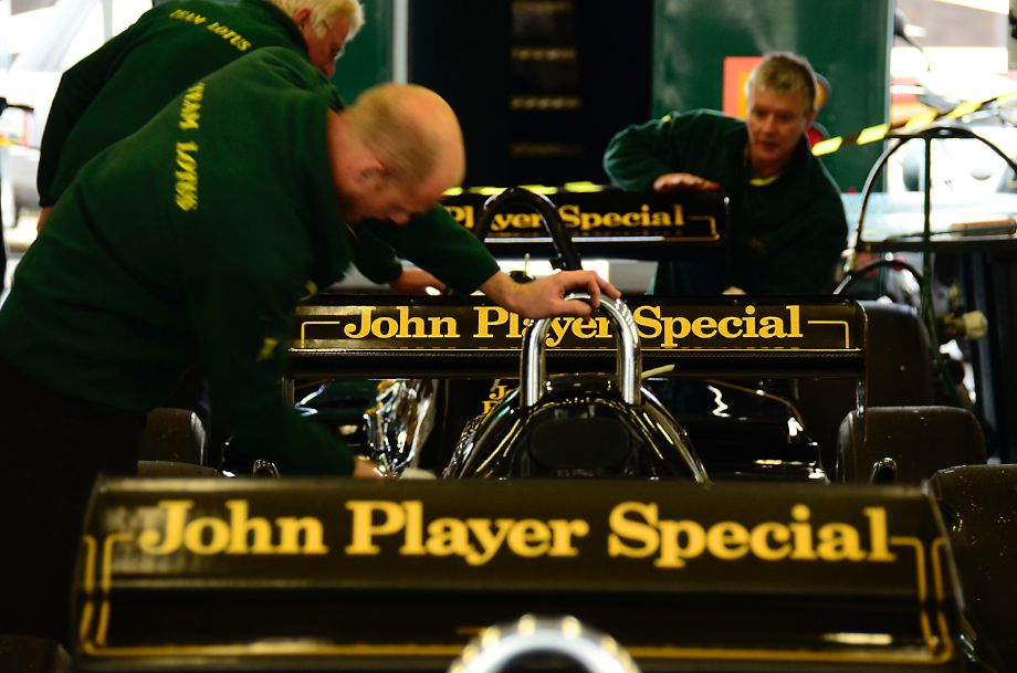John Player Special Line-up