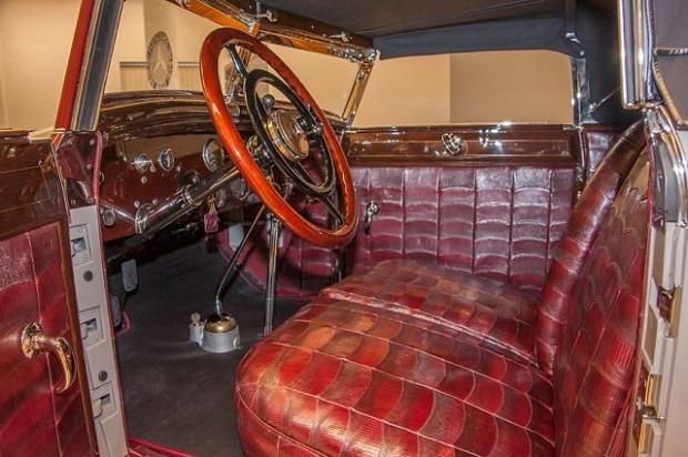 1928 Mercedes-Benz Typ S Torpedo Interior