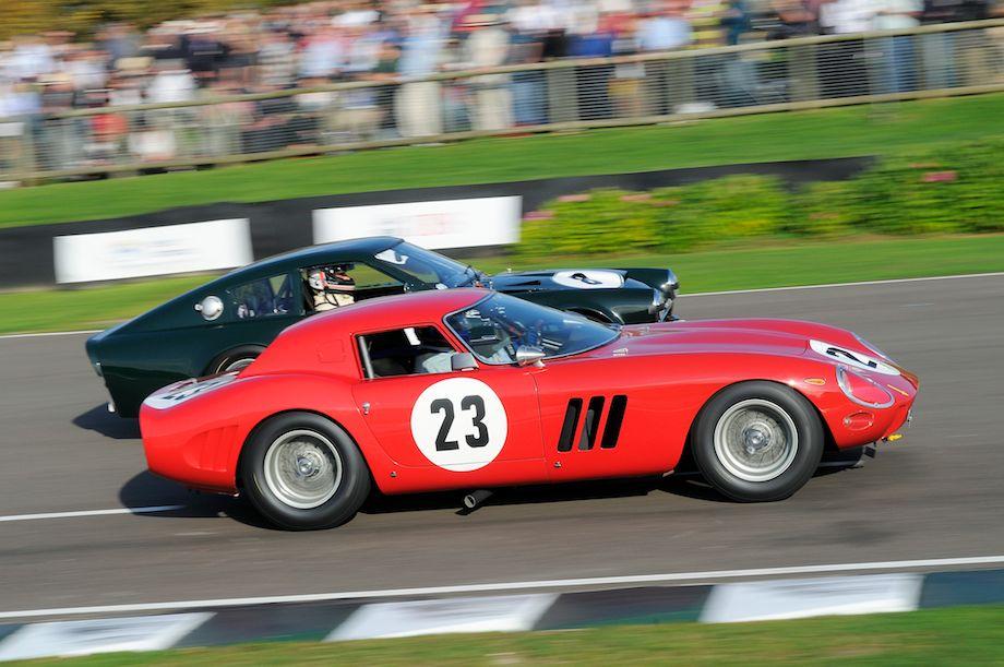 Ferrari 250 GTO/64 and Sunbeam Lister Tiger
