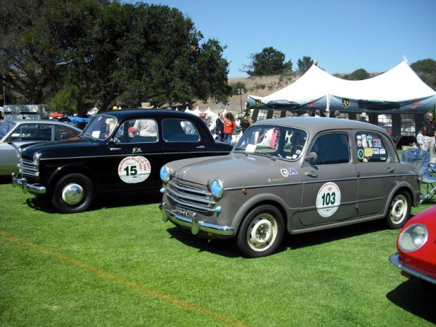 1953 FIAT 100 Berlina, Martin's favorite racer. Image from the Swig Collection.