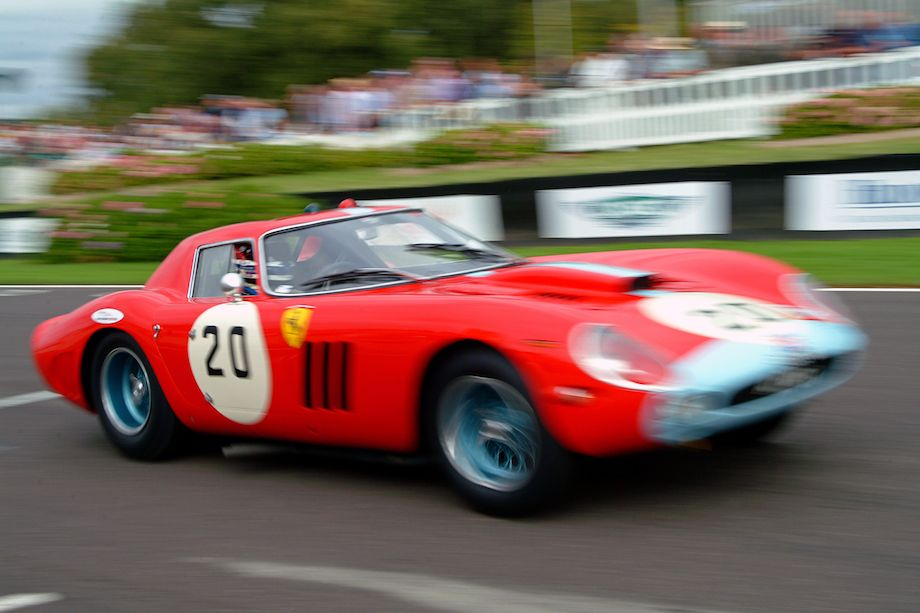 Ferrari 250 GTO/64 of Sir Anthony Bamford at the 2005 Goodwood Revival