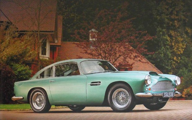 1960 Aston Martin DB4 Series II Coupe