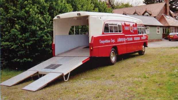 1959 BMC PSV 5-Ton Race Transporter