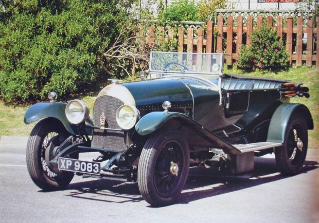 1924 Bentley 3-Liter Speed Model Tourer