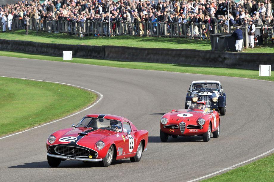 Ferrari 250 GT Tour de France, Alfa Romeo Giulietta Sebring Spider and Morgan Plus Four