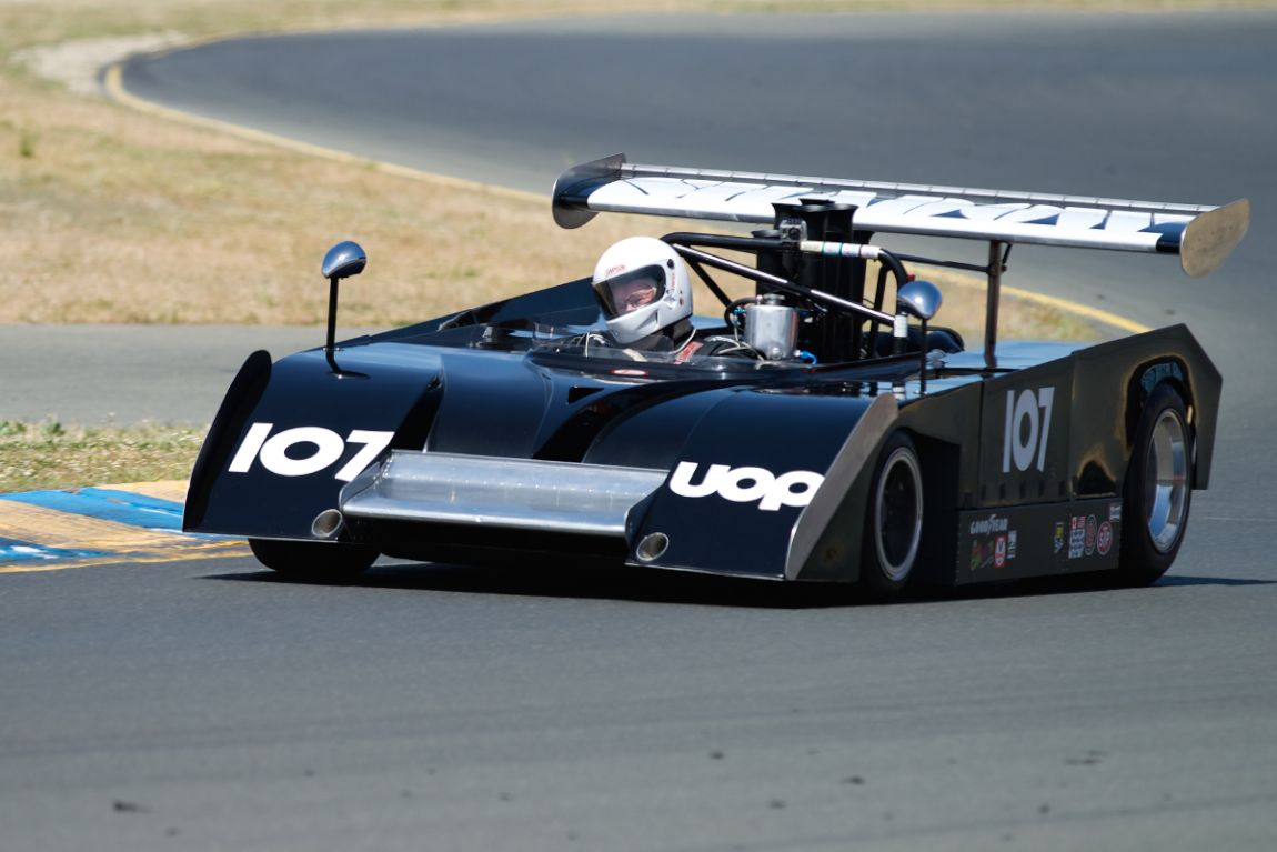 1971 Shadow MKII driven by Dennis Losher.