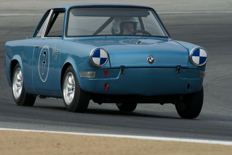 Steve Walker in his 1960 BMW 700S.