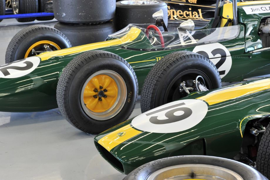 Team Lotus Honoring Jim Clark