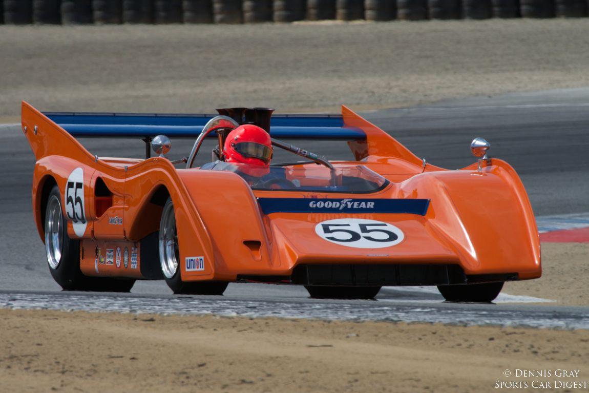Robert Kauffman's 1972 McLaren M8FP.
