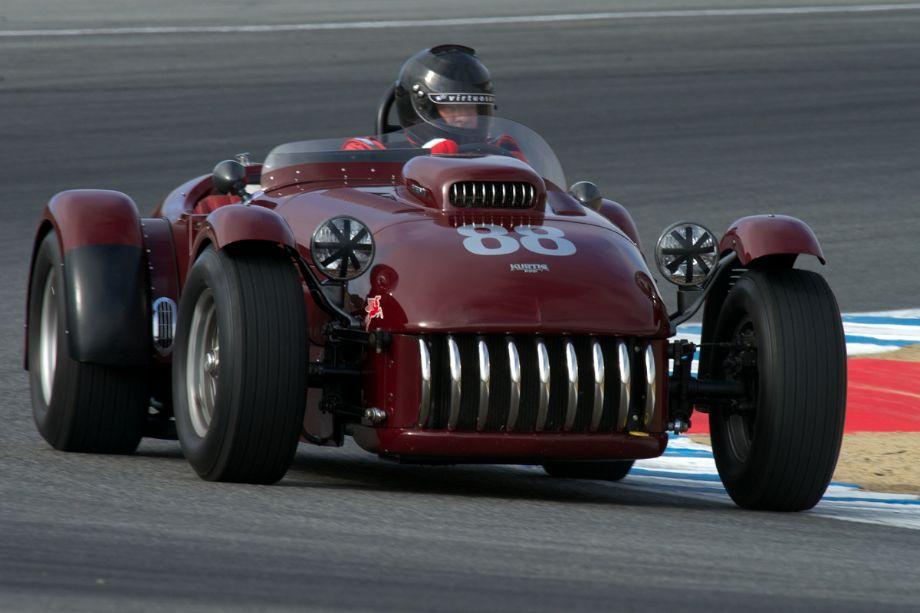 1953 Kurtis 500S driven by Tom Claridge.
