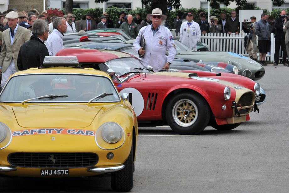 When the Safety Car is a Ferrari 275 GTB…odds are good the race will have some special entrants as well.