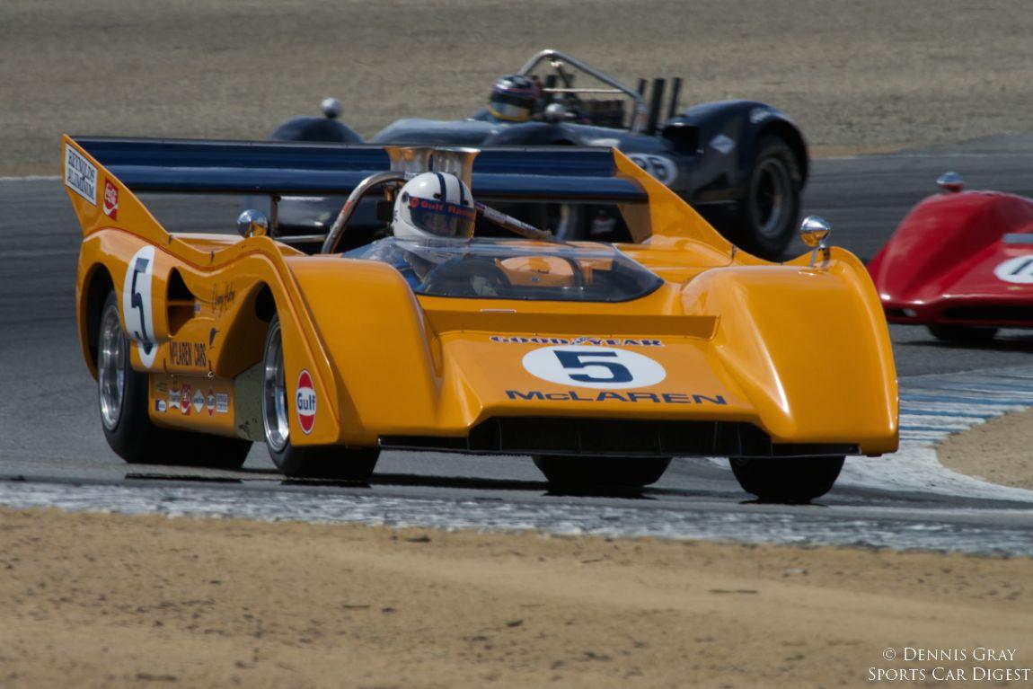 1971 McLaren M8F-1 driven by Chris Macallister.