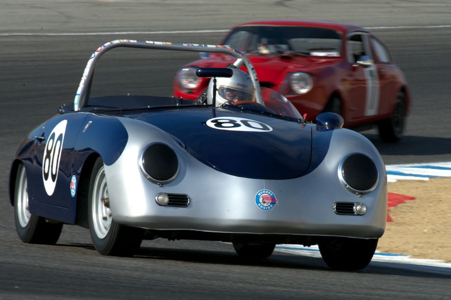 Max Jamiesson's 1957 Porsche 356 Speedster