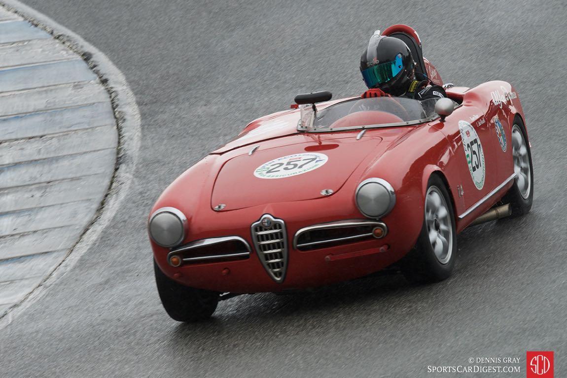 Lars Mapstead - 1957 Alfa Romeo Spyder Monoposto.