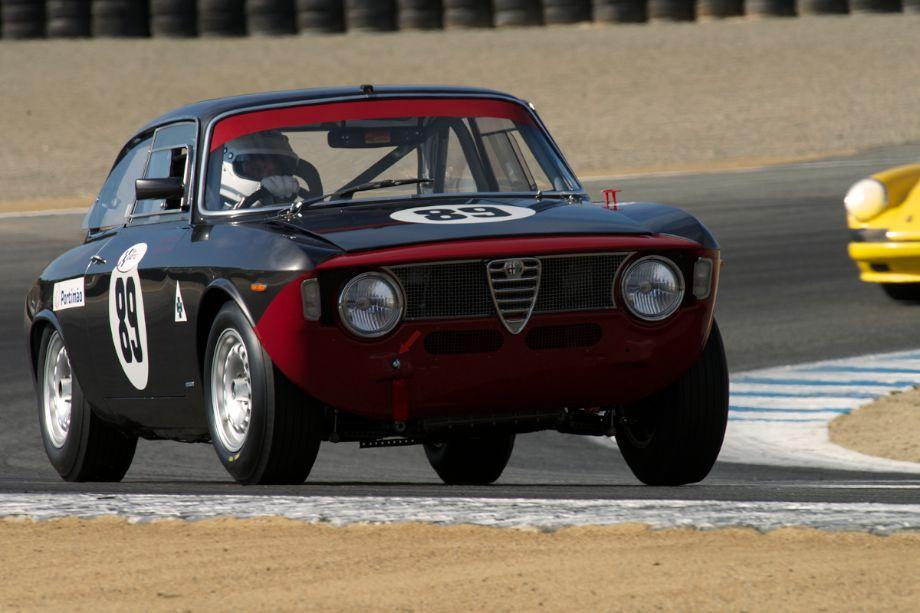 1965 Alfa Romeo GTA driven by Maxim Banks.