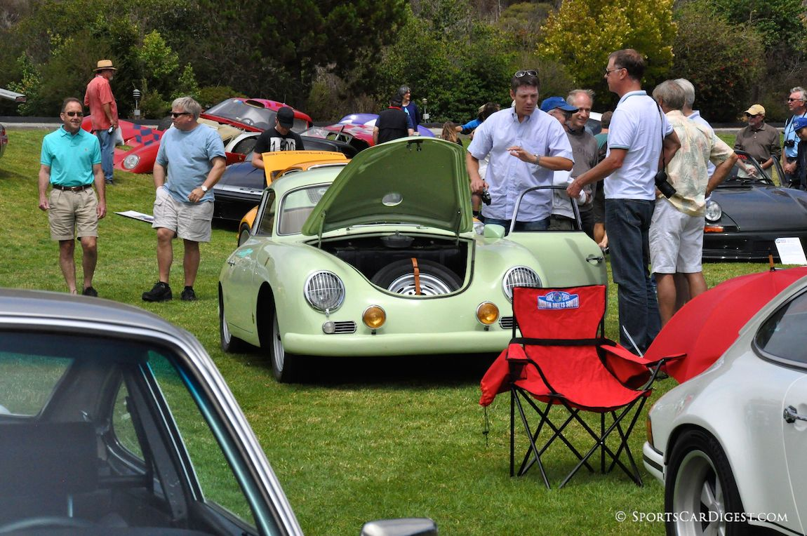 The Hot-Rod section at the 2014 Porsche Werks Reunion