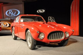 1953 Ferrari 340 Mexico at RM Auctions Amelia Island