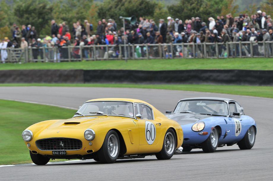 Ferrari 250 GT SWB Berlinetta and Jaguar E-Type FHC