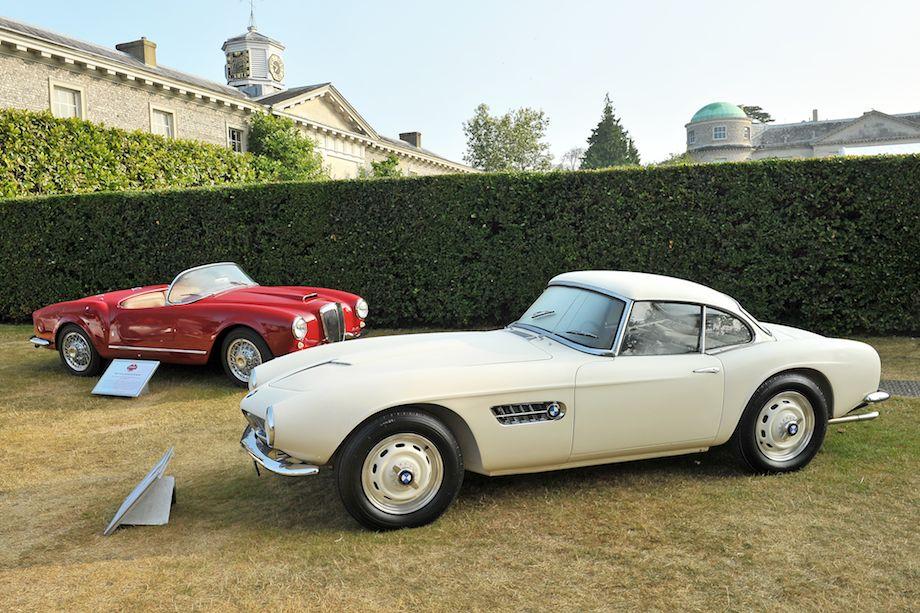 BMW 507 and Lancia B24 Spider America