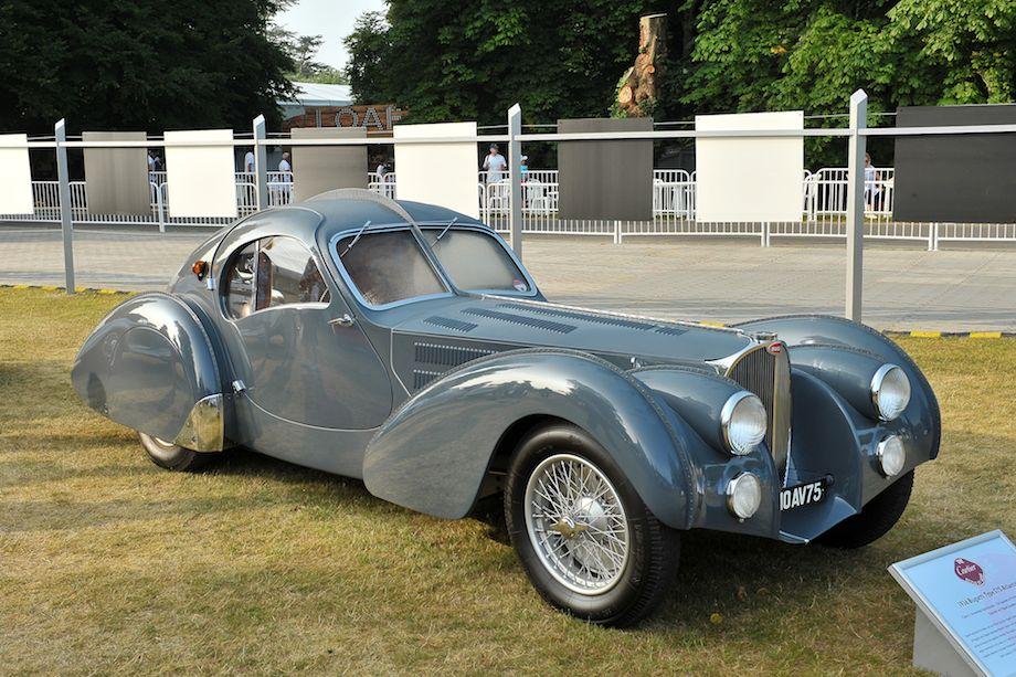 1936 Bugatti Type 57S Atlantic