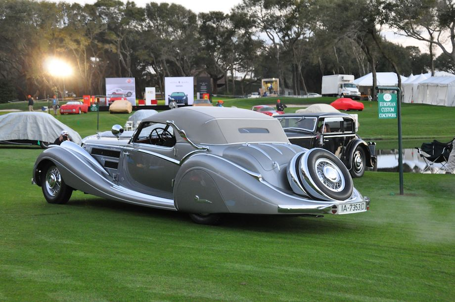 Best of Show - 1937 Horch 853 Voll and Ruhrbeck Sport Cabriolet