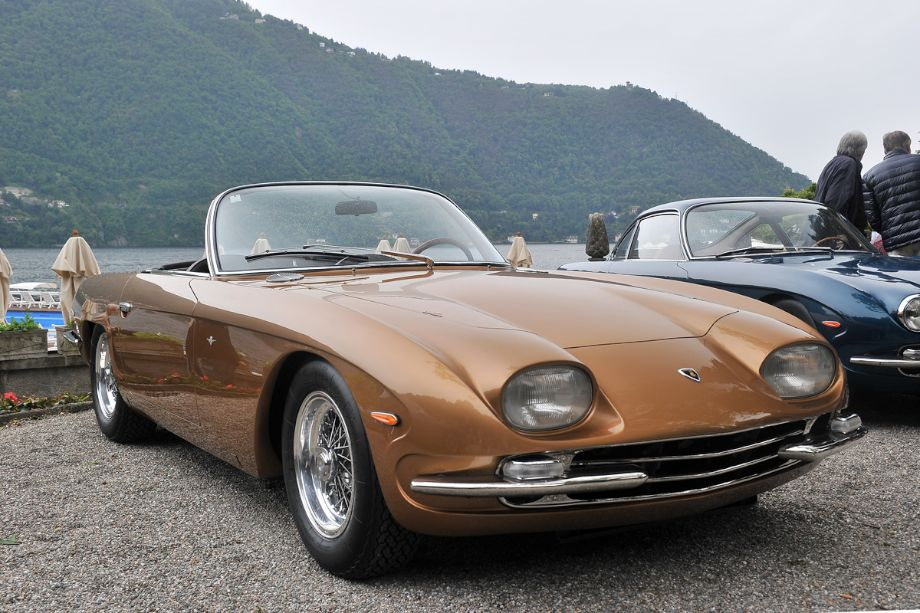 1965 Lamborghini 350 GTS Spider by Touring