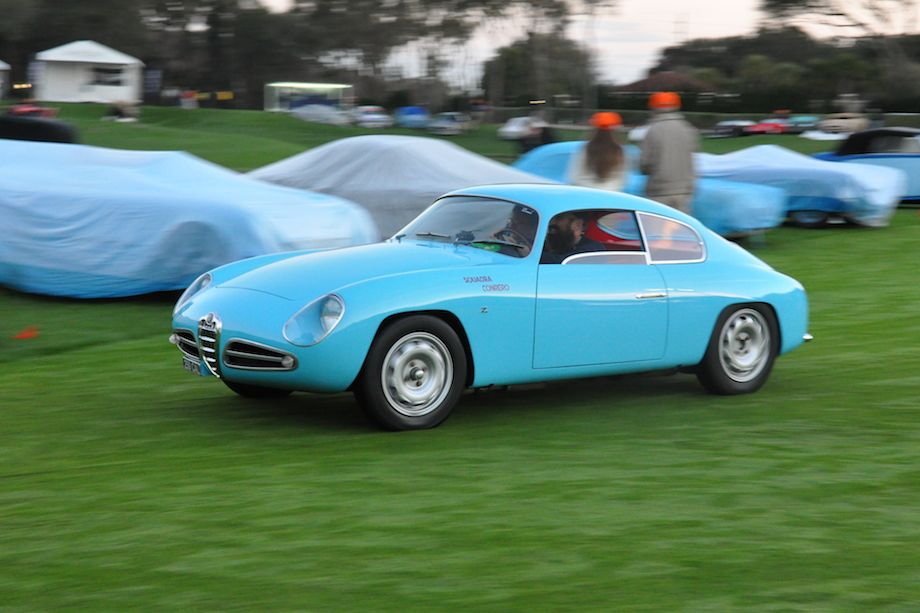 1958 Alfa Romeo Giulietta Sprint Veloce Zagato