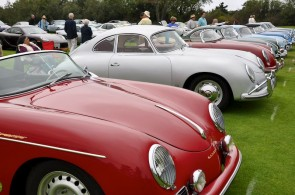 Porsche 356 Line-Up at Legends of the Autobahn