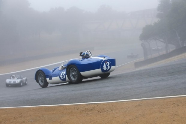 Tipo 60 Maserati of Rob Walton during Monterey Motorsports Reunion