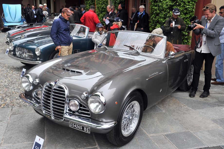 1950 Maserati A6G 2000 Cabriolet by Frua