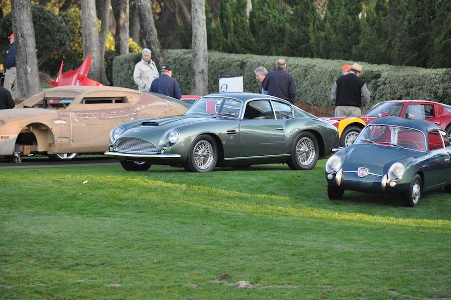 1961 Aston Martin DB4 GT Zagato and the Cars of Zagato Design Class