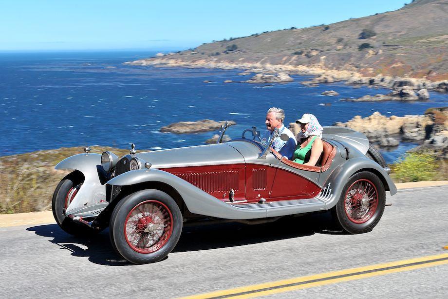 1933 Alfa Romeo 8C Touring Spider