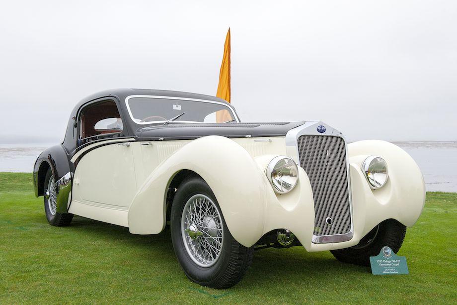 1939 Delage D8-120 Vanvooren Coupe