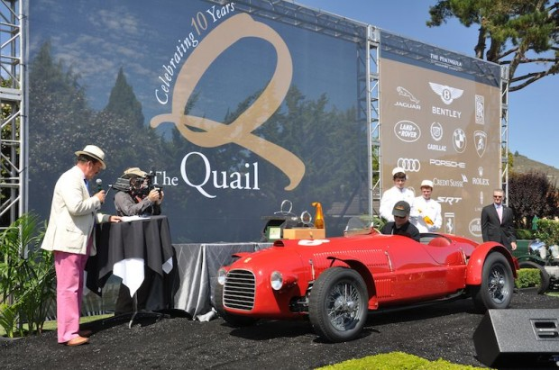 Spirit of Quail Award Winner - 1947 Ferrari 159S 002C - Jim Glickenhaus