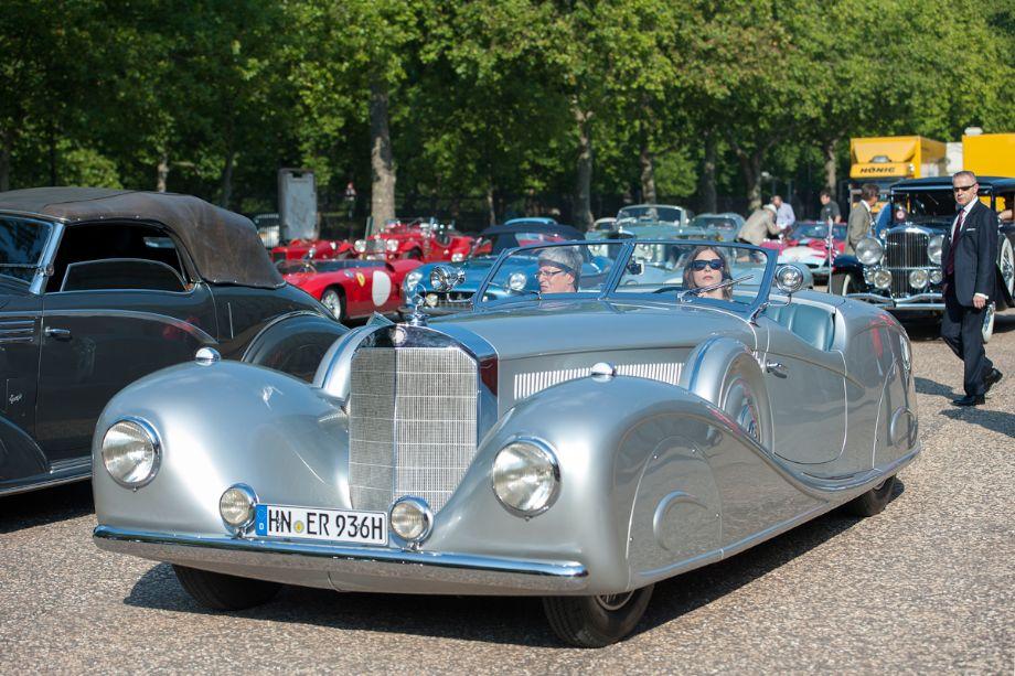 1936 Mercedes-Benz 500K Erdmann and Rossi Streamline Roadster