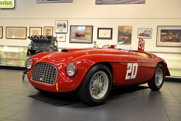 1949 Ferrari 166 MM Barchetta, 0010M, Touring Body
