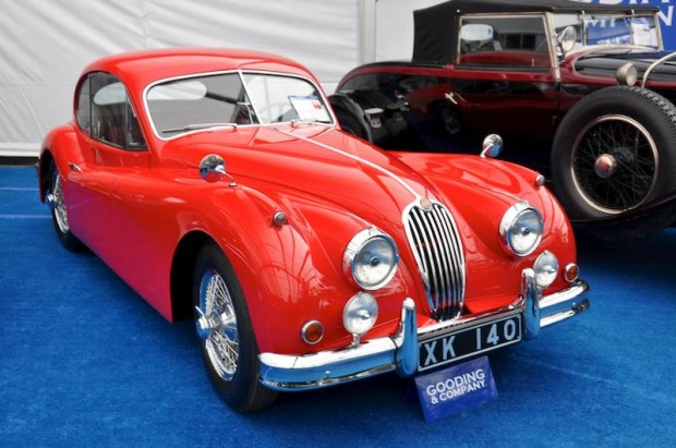 1955 Jaguar XK 140 Fixed Head Coupe