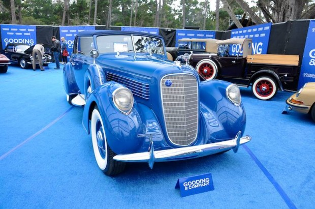 1938 Lincoln Model K Convertible Victoria, Body by Brunn