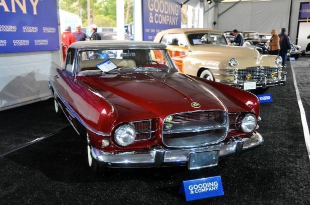 1957 Dual-Ghia Convertible, Body by Ghia