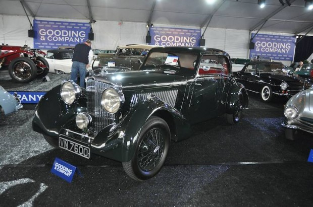 1928 Bentley 4 1/2 Liter Tourer, Body after Vanden Plas