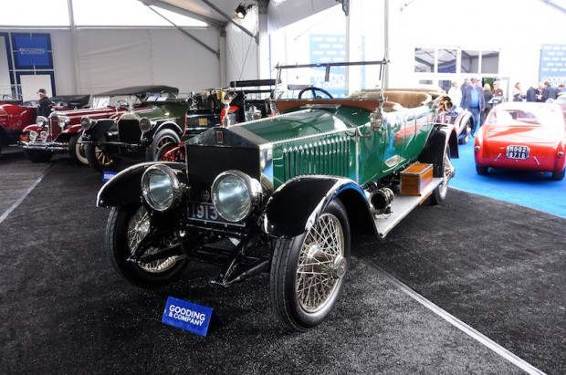 1913 Rolls-Royce Silver Ghost 40/50hp Torpedo Tourer, Body by Harley