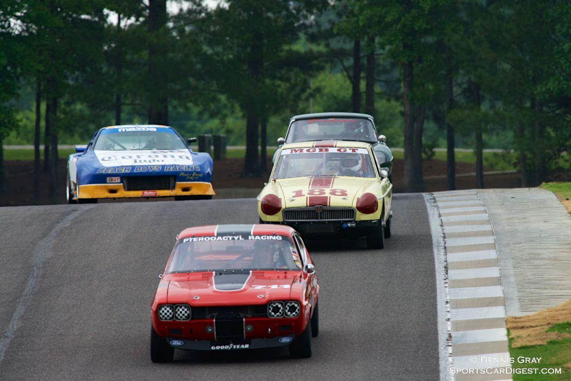 Ira Schoen's Ford Capri in the lead in Group 2
