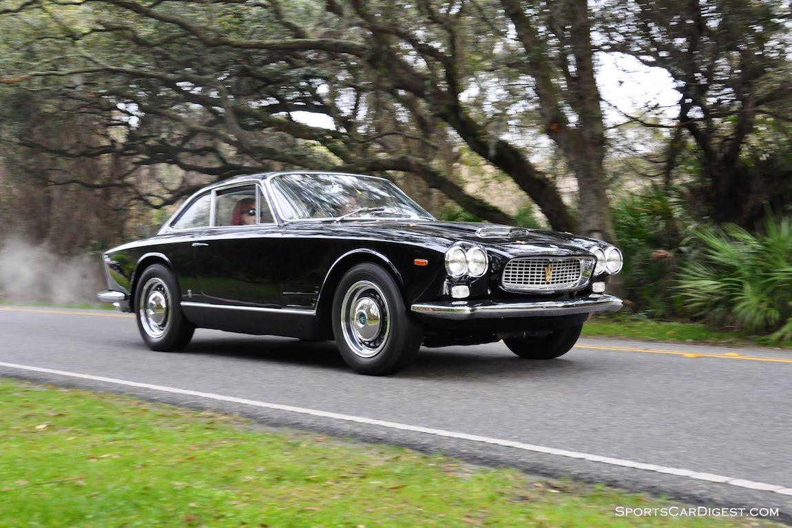 Maserati Sebring on the Amelia Island Concours Road Tour
