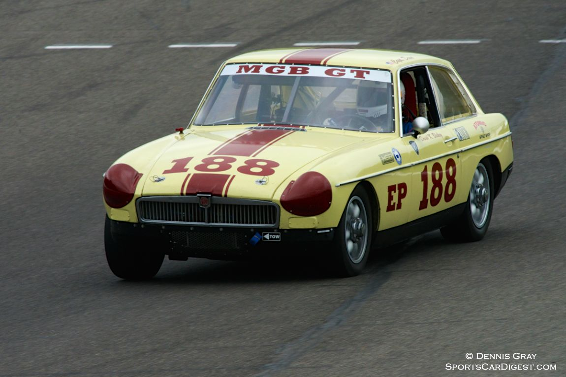 MGB GT driven by David Blakey