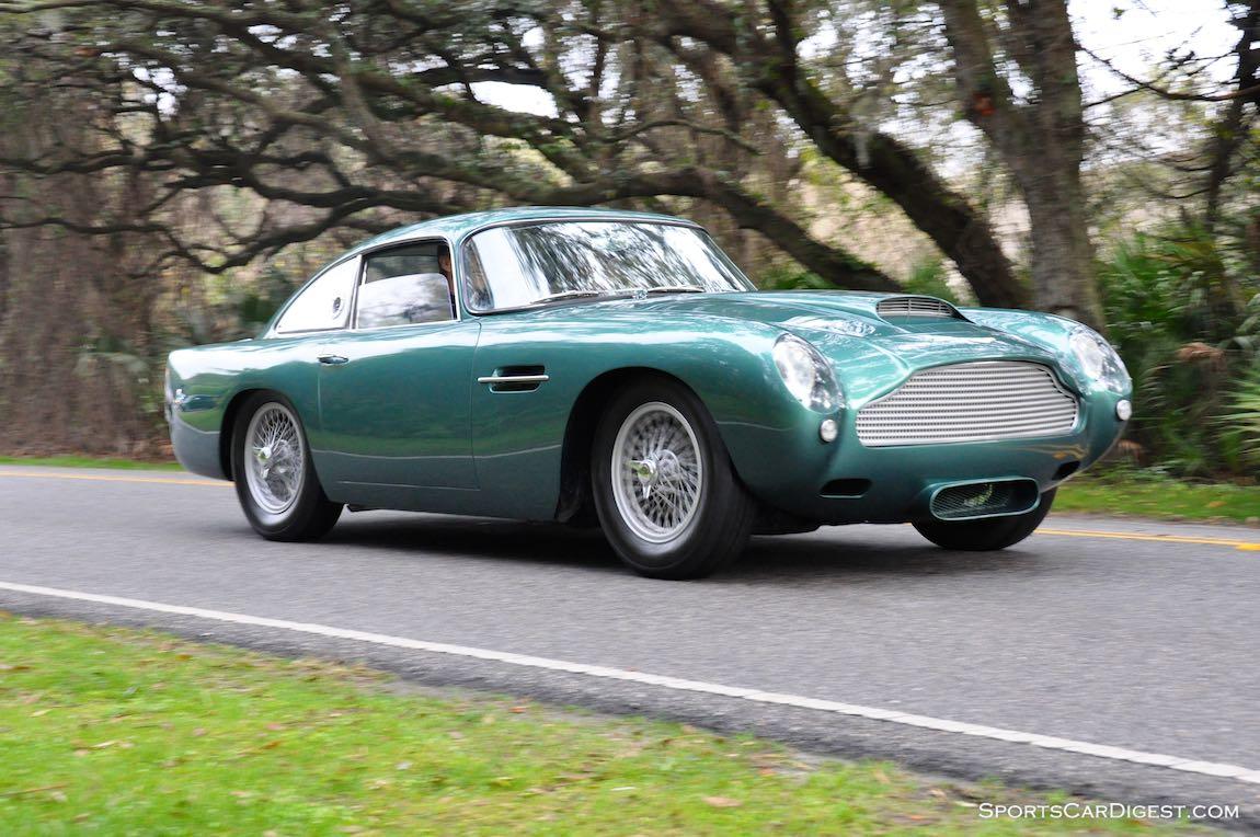 Aston Martin DB4 GT on the Amelia Island Concours Road Tour