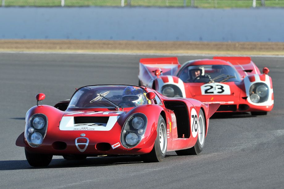 Alfa Romeo T33/3 and Porsche 917K