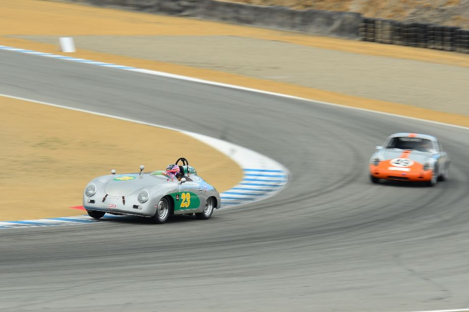 1957 Porsche 356 Speedster and 1961 Porsche Abarth Carrera