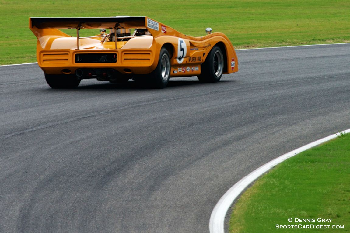 Chris MacAllister's McLaren M8F